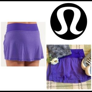 Lululemon Hot & Sweaty Run Skirt Yoga Shorts Skort
